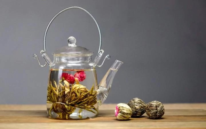 Flowering Tea by Lily Mae Franklin