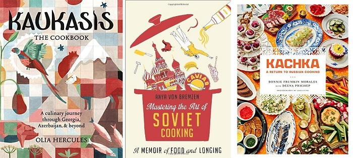Russian cookbooks