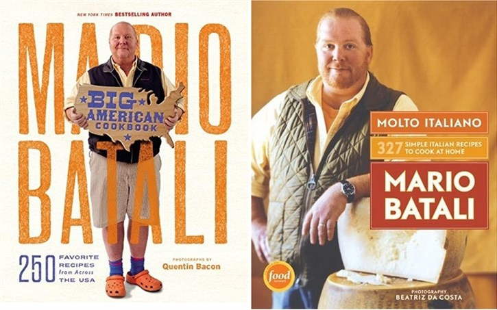 Mario Batali cookbooks