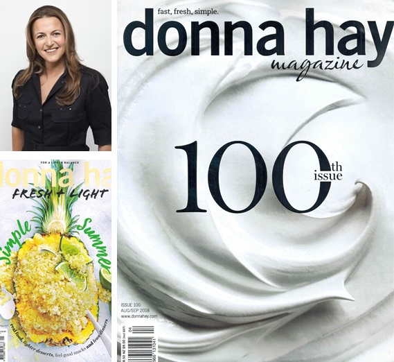Donna Hay collage