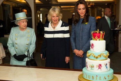 Royals with Cake