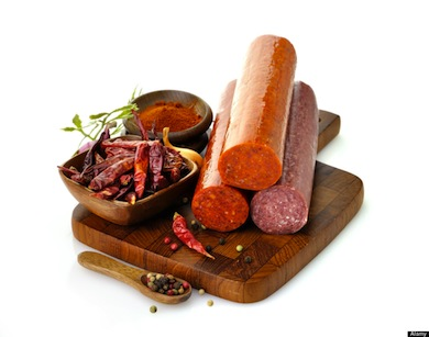 Salami and deli meats