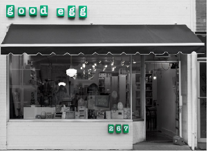 Good Egg cookbook store