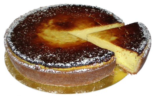 French cheesecake