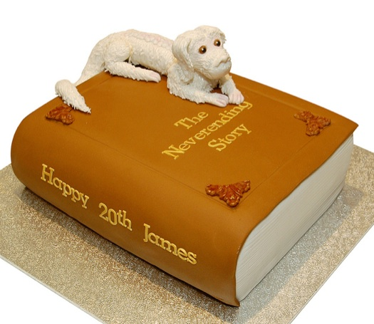 the Neverending Story Cake