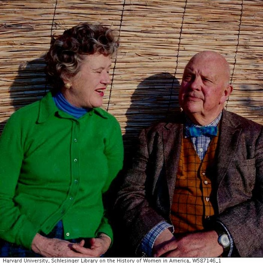 Julia Child and James Beard