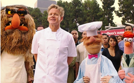 Gordon Ramsey & the Swedish Chef