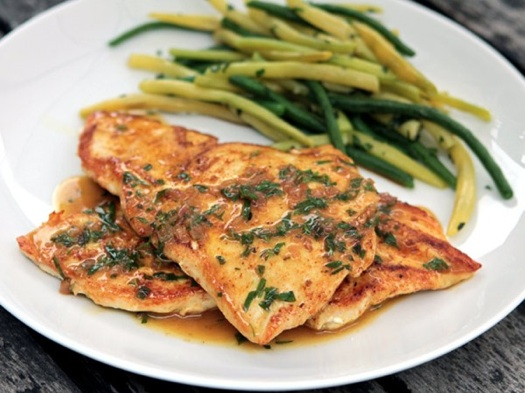 Chicken breasts with tarragon