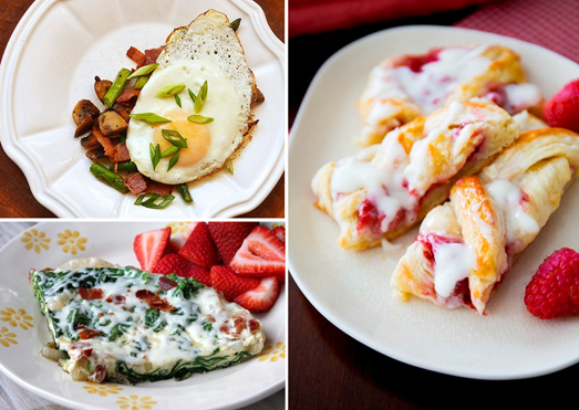 Brunch recipe photos