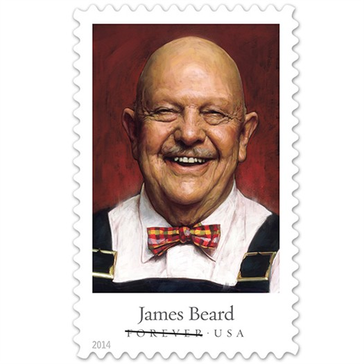 James Beard stamp