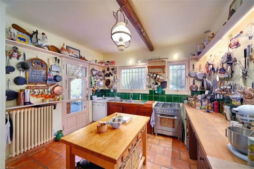 Julia Child's kitchen in France