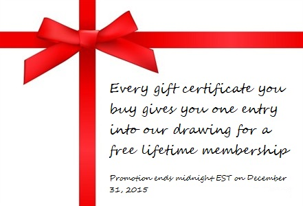 Gift certificate 15