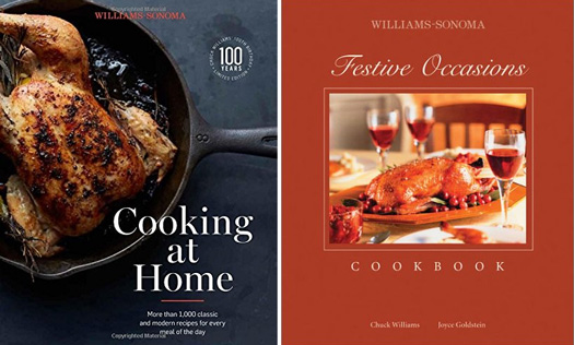 Williams Sonoma cookbooks