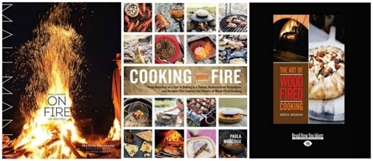Cookbooks for fire cooking