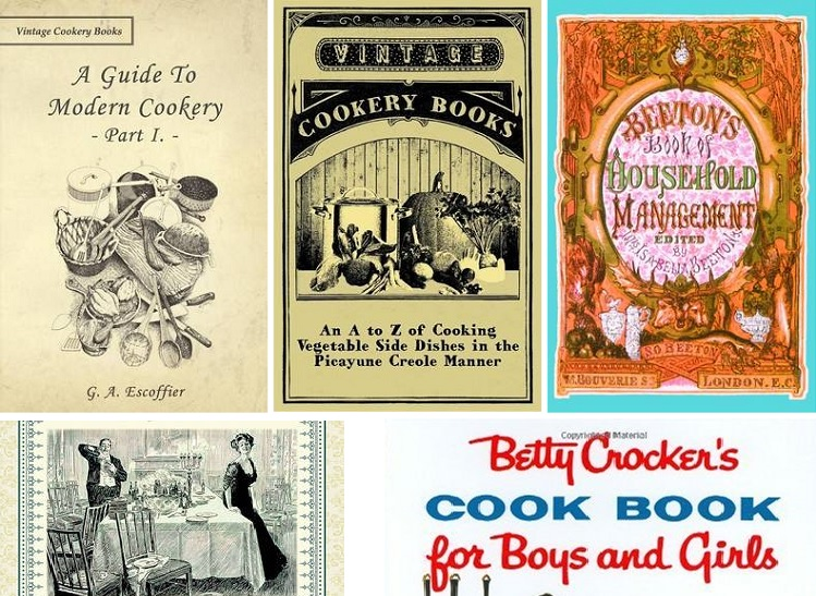 vintage cookbooks