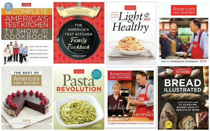 America's Test Kitchen cookbooks