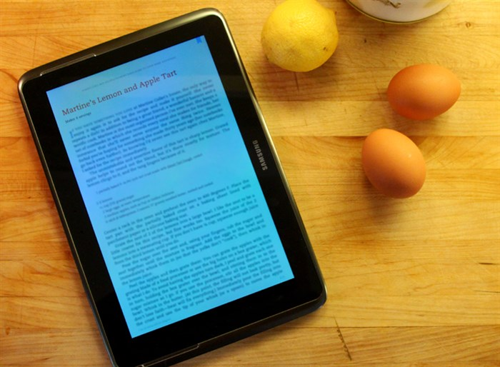 eBook recipe