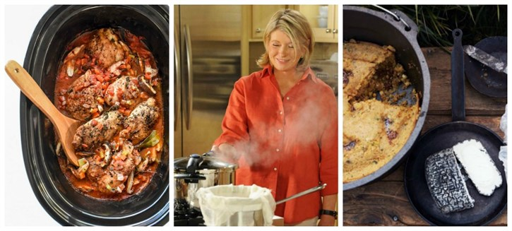 Crockpot, Dutch oven, pressure cooker